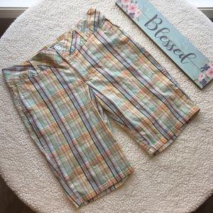 Cato Plaid Bermuda Shorts